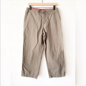 Columbia Olive Green Capris Pants Size Small